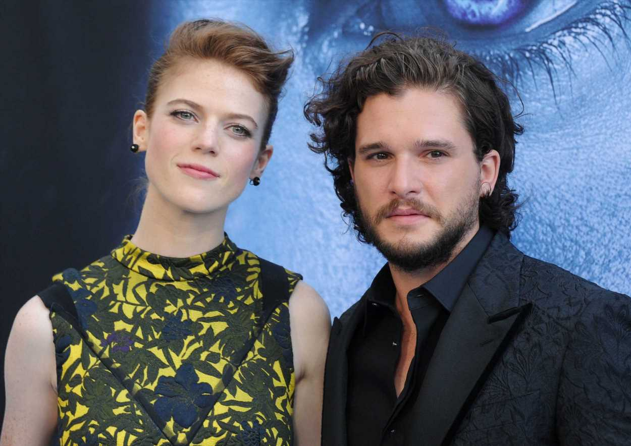 Rose Leslie y Kit Harrington desvelan que van a ser padres