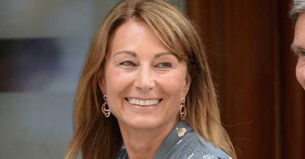 El posado de la madre de Kate Middleton en su 65 cumpleaños