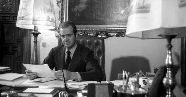 Así fue el primer cumpleaños de Juan Carlos como rey: un viaje en tren y en familia para trabajar en su despacho su discurso más importante