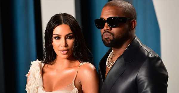 Kim Kardashian y Kanye West se van a divorciar, según Page Six