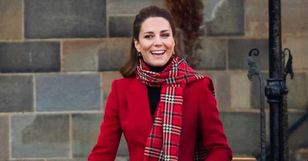 Kate Middleton rescata su vestido de tartán favorito para celebrar la tradicional Noche de Burns escocesa