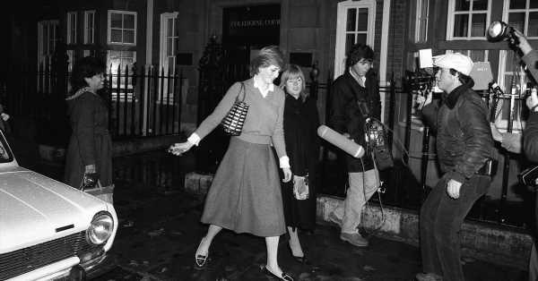 El truco de la princesa Diana para esquivar a los 'paparazzi' que han revelado sus sobrinas