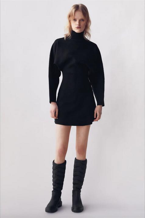 Las botas acolchadas de Zara con las que vestirás a la última y estarás calentita