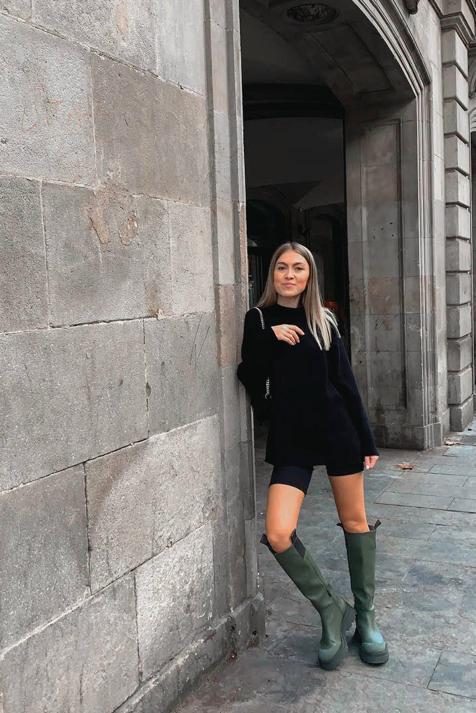 Las botas tendencia de la temporada han vuelto y siguen siendo perfectas para tus looks con minifalda o vestido