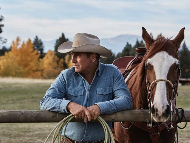 Kevin Costner vuelve a la tele con 'Yellowstone', un adictivo drama familiar con aires de western