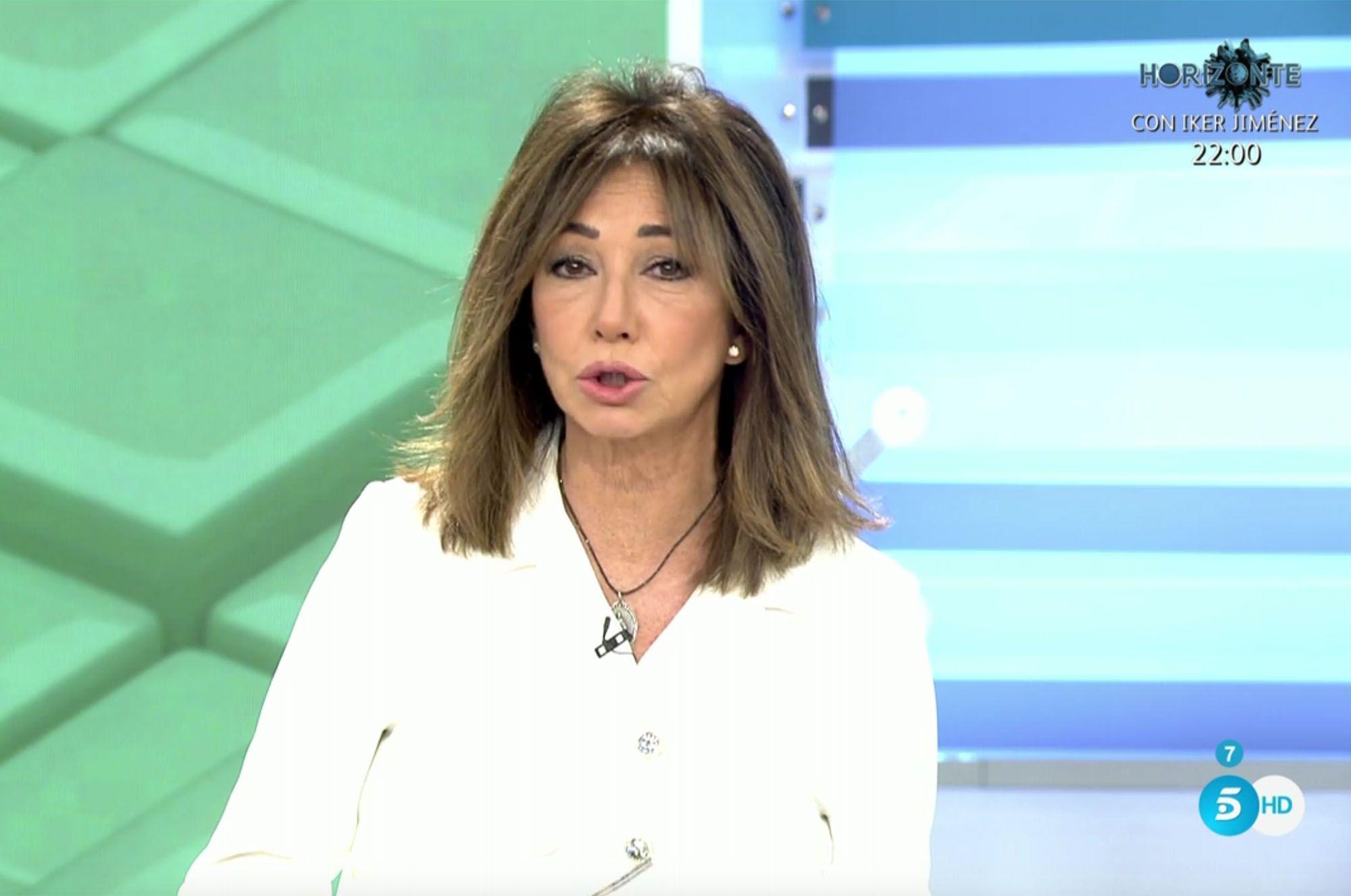 Ana Rosa repite la costumbre que tiene después de volver de vacaciones