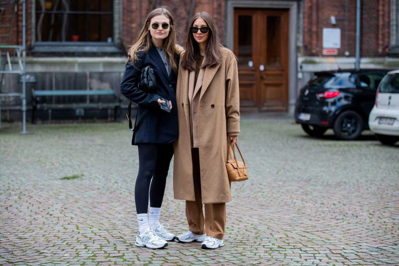 Calcetines a la vista: el truco de estilo para llevar leggings