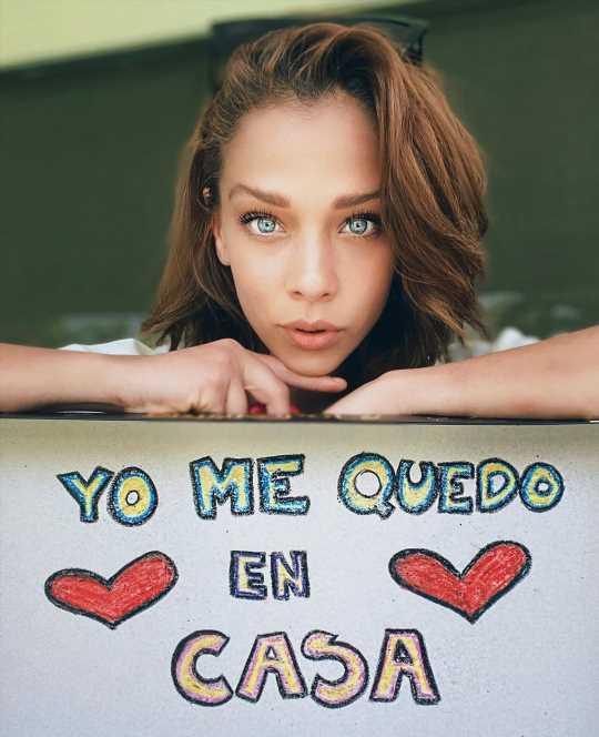 Carolina Miranda llora la muerte de su abuela