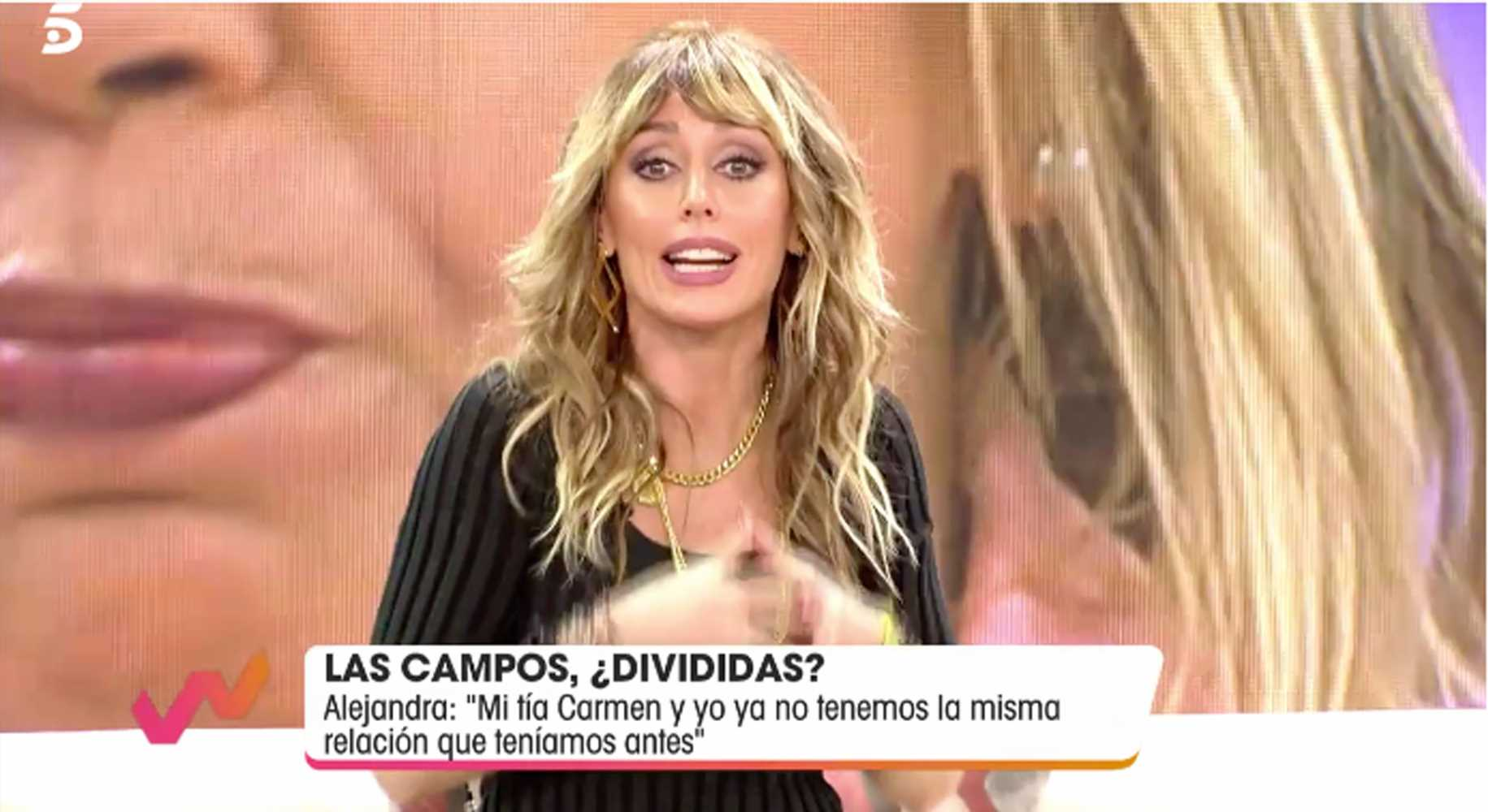 Emma García harta del papel de víctima de Carmen Borrego
