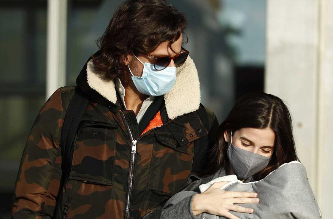 Sandra Gago y Feliciano López, su bebé ya está en casa