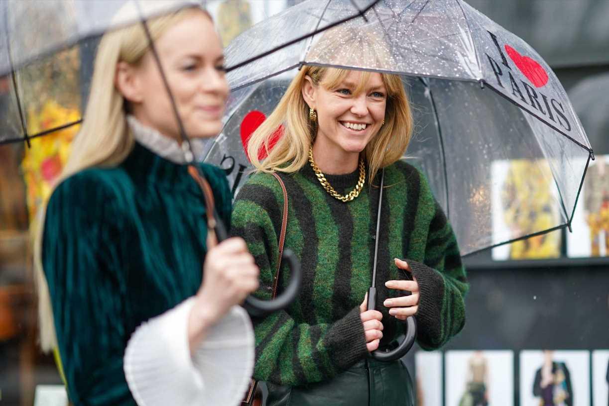 Ideas de looks para vestir con lluvia- Cómo vestir cuando llueve