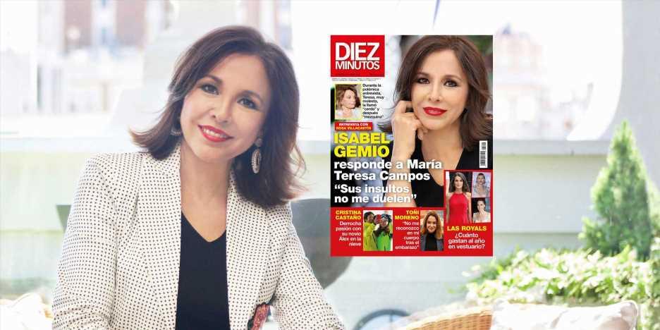 """Isabel Gemio, sobre su polémica con María Teresa Campos: """"Antes de emitir la entrevista, pensé en no darla"""""""