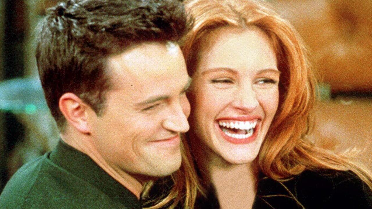 'Friends': así convenció Matthew Perry a Julia Roberts para su cameo