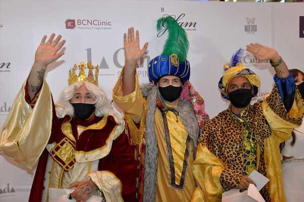 Kiko Rivera, Omar Montes y Luis Rollán, los Reyes Magos de Marbella