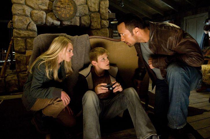 La experiencia extraterrestre de Dwayne Johnson en 'La montaña embrujada'