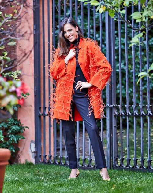 Laia Alemany posa con la mejor moda para el invierno