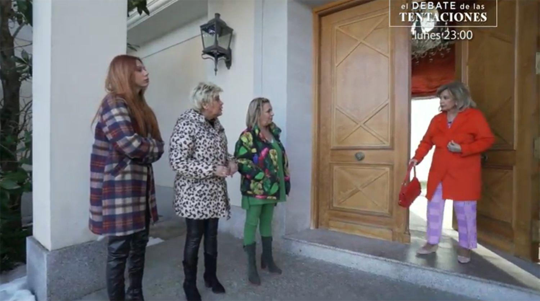 El clan Campos, al completo, por primera vez en televisión trabajando juntas