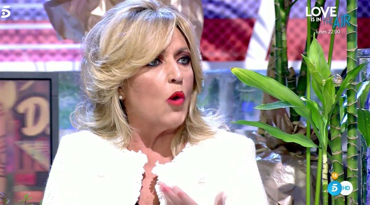 """Lydia Lozano sobre Carmen Borrego y Terelu Campos: """"Me consideran una colaboradora de tercera división"""""""