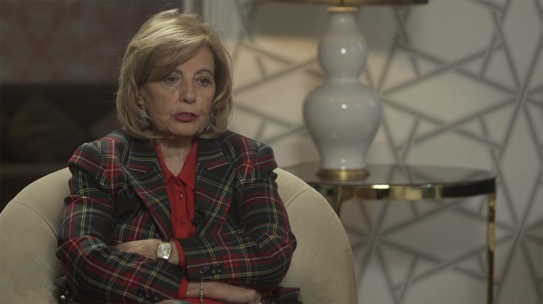 """María Teresa Campos a Isabel Gemio: """"Termina el tema ya hija, de verdad, estoy cansada"""""""
