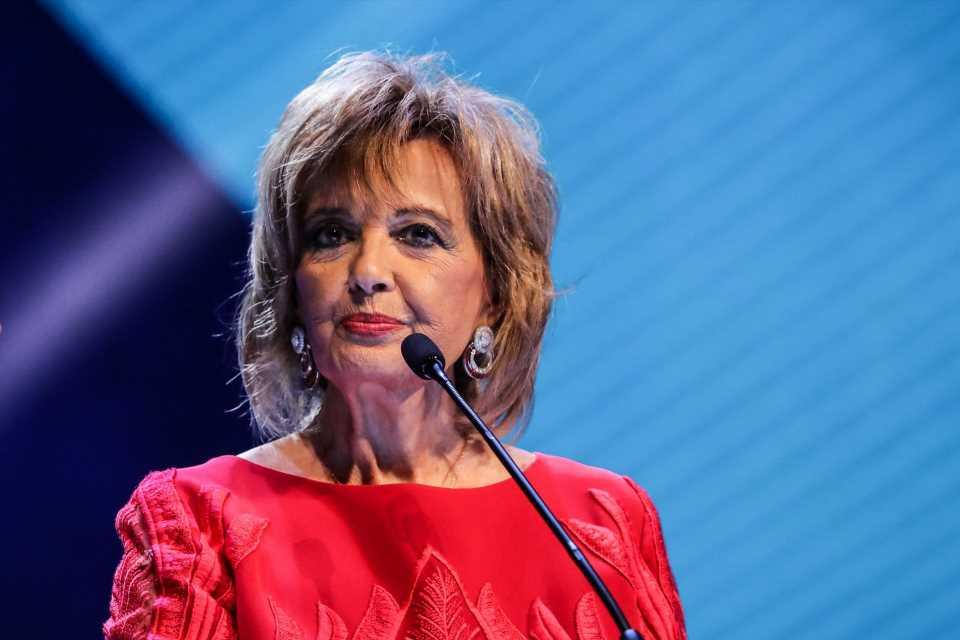 María Teresa Campos se inspira en Cristina Pedroche en su vuelta a la televisión
