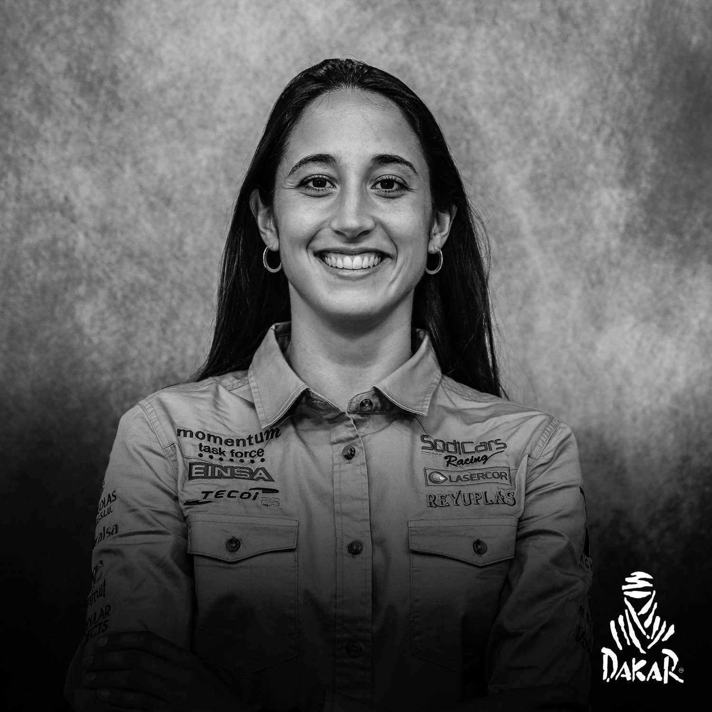 Mónica Plaza, copiloto en el Rally Dakar: