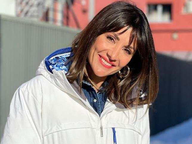Esta chaqueta tan bonita y calentita que ha llevado Nagore Robles demuestra que el blanco también es perfecto para el invierno