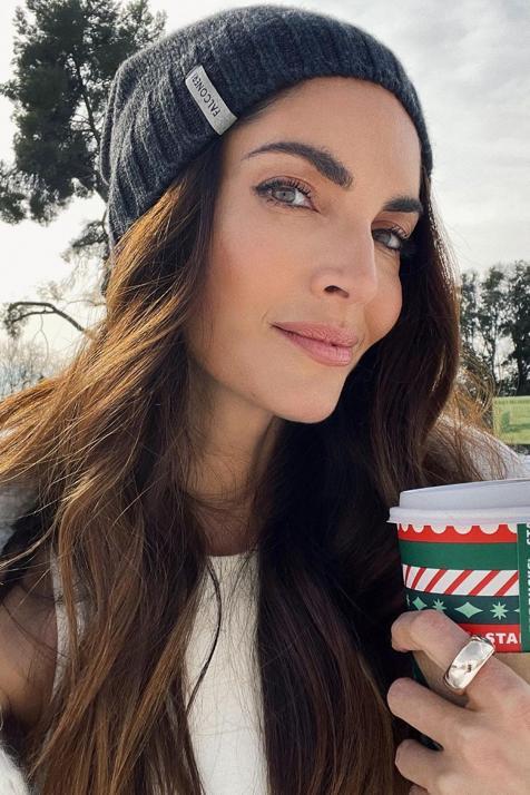 La parka de H&M más práctica y bonita la tiene Eugenia Silva muy similar y es perfecta para combatir el frío