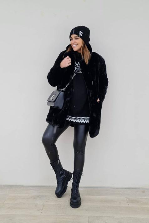 Los 3 looks más cómodos y favorecedores de Paula Echevarría tienen algo en común: los leggings de Primark que adelgazan y las botas tendencia de Stradivarius