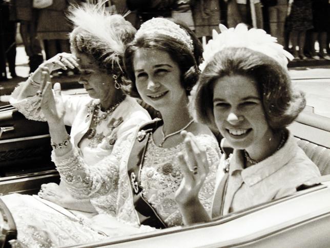 El núcleo íntimo de la reina Sofía: ¿quiénes son sus amigos?