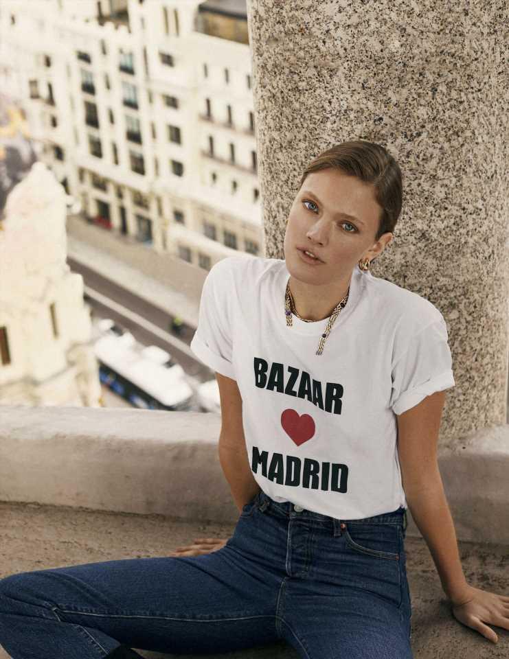 Sorteo camiseta 'Bazaar loves Madrid'