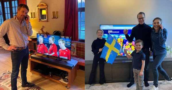 Heredero al teléfono: la insólita llamada entre Victoria de Suecia y Federico de Dinamarca para desearse suerte