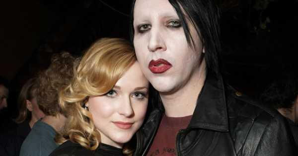Evan Rachel Wood denuncia a su expareja Marilyn Manson por acoso