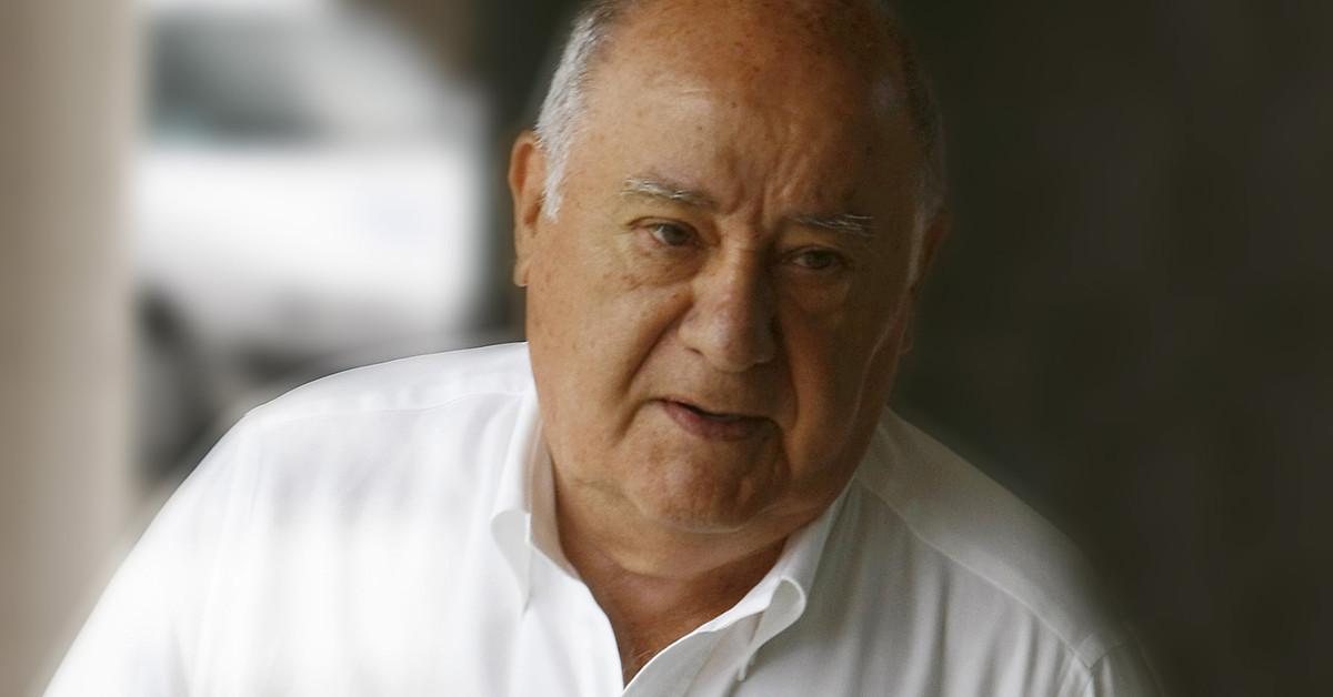 Los trabajadores de Inditex homenajean a Amancio Ortega