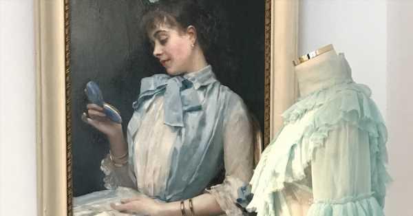 Cuando Aline Masson (hija del conserje de los marqueses de Casa Riera) se 'vistió' de Dolce & Gabbana