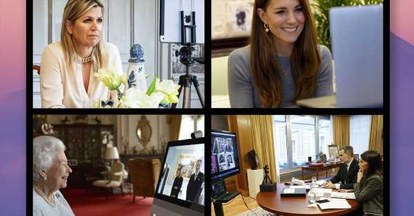 Portátiles, tablets, cámaras… Los gadgets que usan Felipe, Letizia, Isabel II y otros 'royals' para teletrabajar