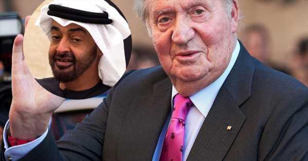 Quién es el poderoso compañero de mesa del rey Juan Carlos en su última foto en Abu Dabi