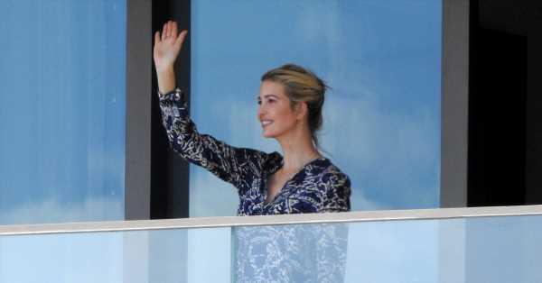 Así es el lujoso apartamento donde vive Ivanka Trump en Miami: terraza privada, vestidor y spa