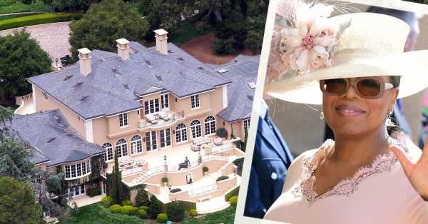 La increíble mansión de Oprah Winfrey en Santa Bárbara: 14 baños, dos salas de cine y Meghan y Harry como vecinos