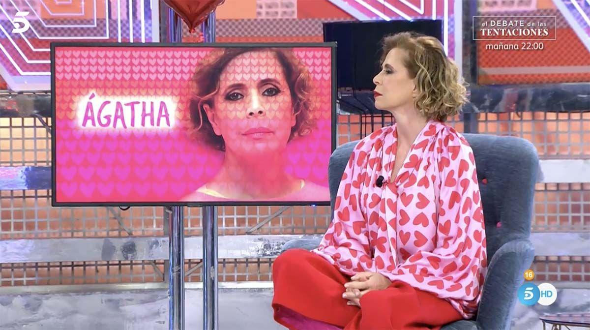 """Ágatha Ruiz de la Prada sobre Isabel Gemio: """"Fue muy antipática conmigo"""""""
