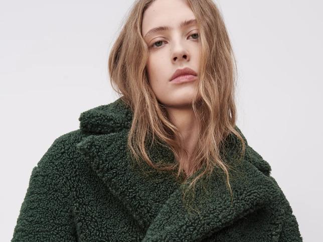 Este abrigo nuevo de Zara es lo más bonito y calentito de la temporada y queda ideal hasta con chándal ¡Palabra de Nagore Robles!
