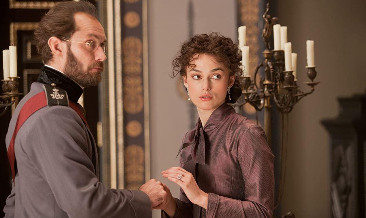 'Anna Karenina', el difícil matrimonio entre Keira Knightley y Jude Law