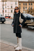 Te presentamos a tu nueva arma secreta de estilo: estas botas engomadas blancas de Stradivarius que ya arrasan en el street style