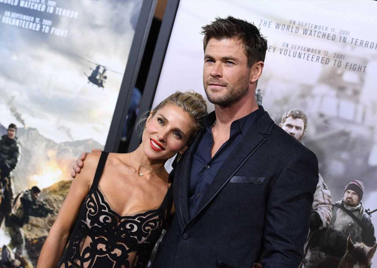 Elsa Pataky y Chris Hemsworth zanjan los rumores de crisis