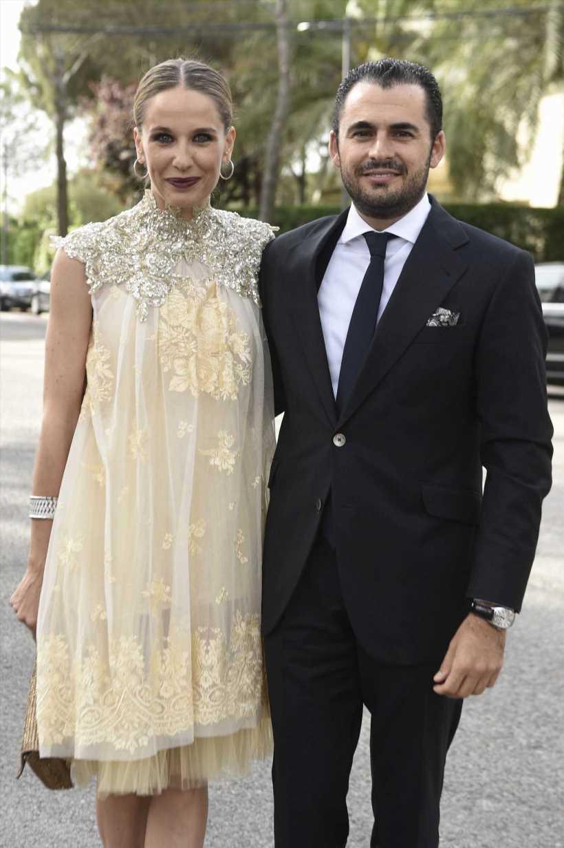 Emiliano Suárez y Carola Baleztena ya son 'marido y mujer'