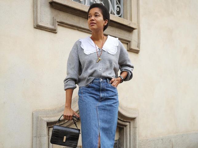 Mango, H&M, Zara… Confirmado, esta primavera necesitas una falda midi vaquera para triunfar