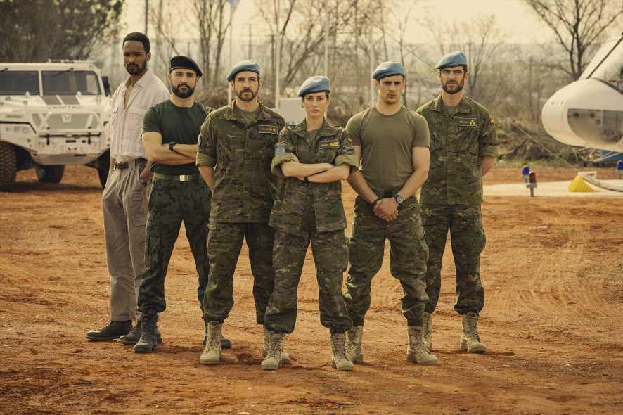 'Fuerzas de paz': la nueva serie de La 1 se mete en el Ejército