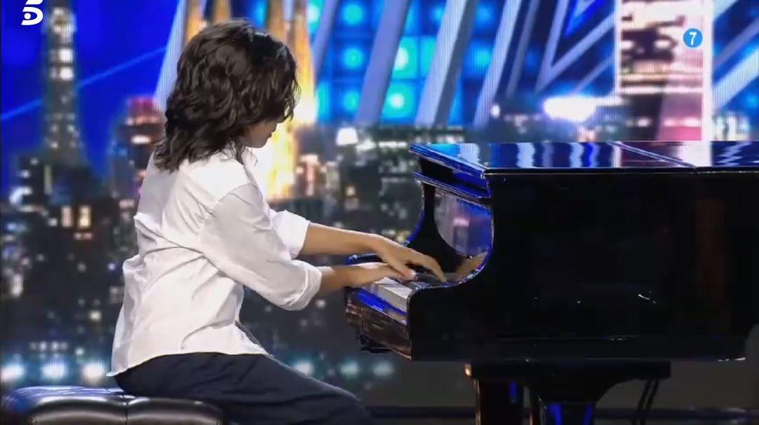 Un niño prodigio del piano deja a Risto maravillado en 'Got Talent España'