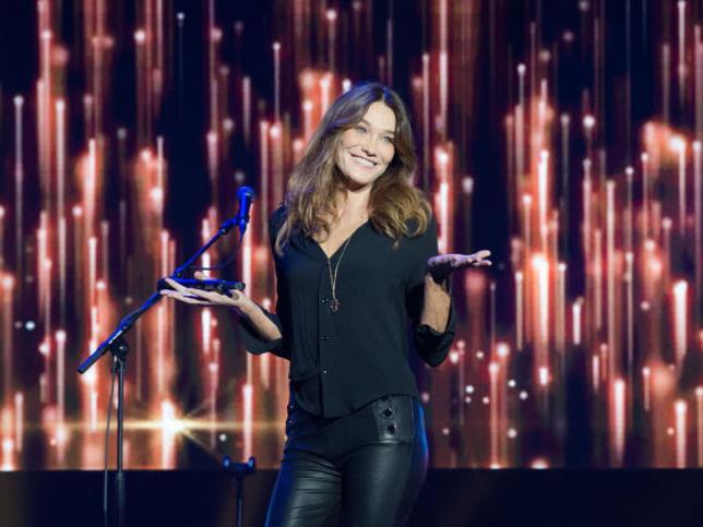 Giulia Sarkozy, la hija del ex presidente francés y Carla Bruni, ¿heredera de la voz de su madre?