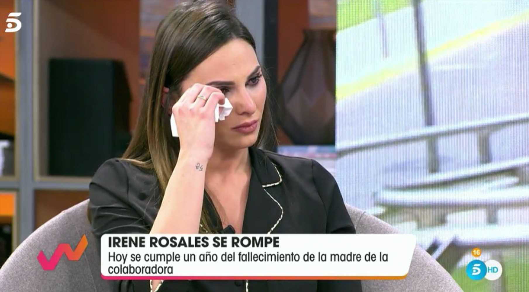 Irene Rosales se derrumba al recordar la muerte de su madre y reconoce que no está bien