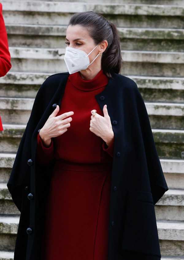 Letizia estrena vestido y copia el look a Máxima de Holanda